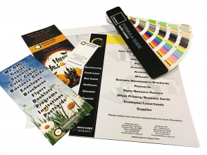brochures to share information about your organization or company