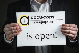 we are open, copies can be made